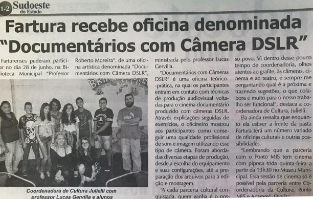 Matéria Jornal Fartura 10-07-18